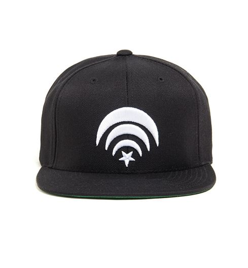 Picture of Connect Snapback Black