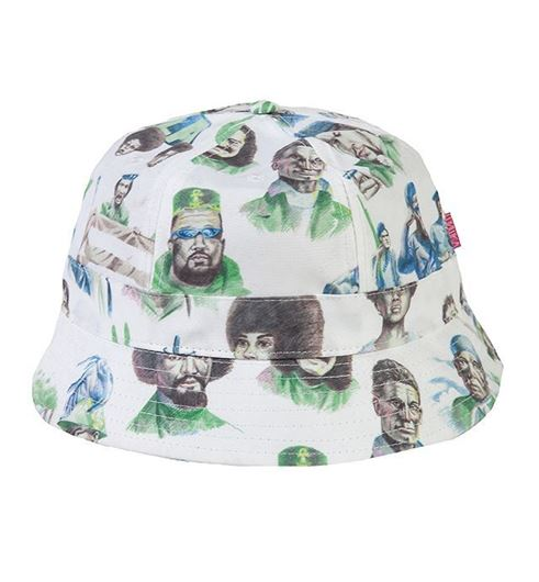 "Picture of Mishka x SSUR*PLUS ""Radicals"" Tennis Bucket White"