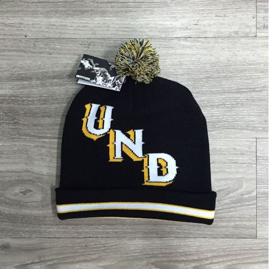 Picture of Und Pom Beanie Black
