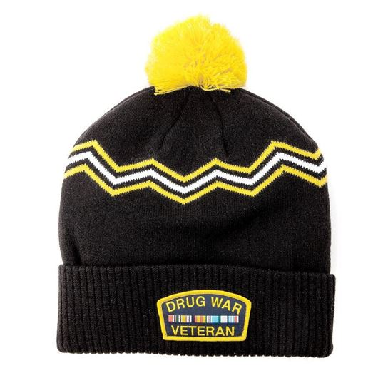 Picture of DRUG WAR BEANIE Black