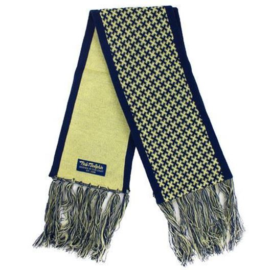 Picture of INFINITE CROSS SCARF Yellow