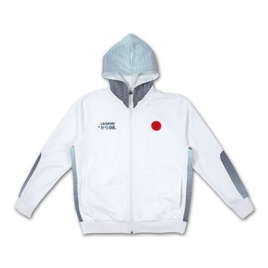 Picture of RISING SUN TRACK JACKET White