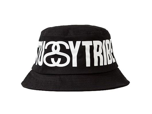 Picture of Stussy Tribe Bucket Hat Black