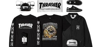 HUF X THRASHER STOOPS USA TOUR 2015