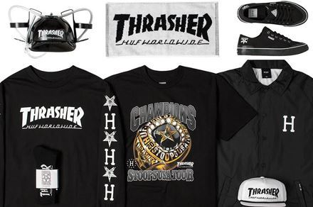 Picture for category HUF X THRASHER 2015