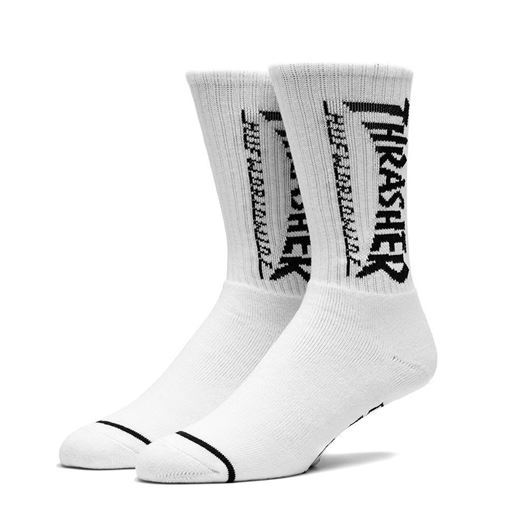 Picture of Logo Crew Sock White