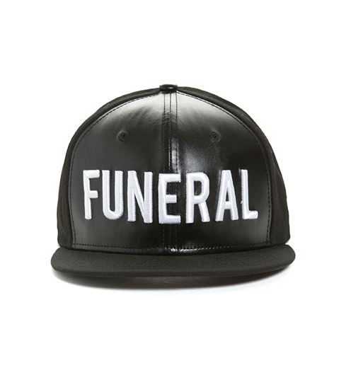 Picture of FUNERAL SNAPBACK Black