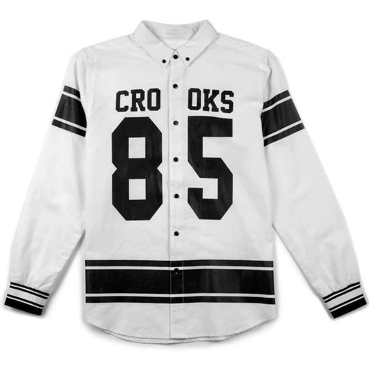 Picture of Ravager L/S Shirt White