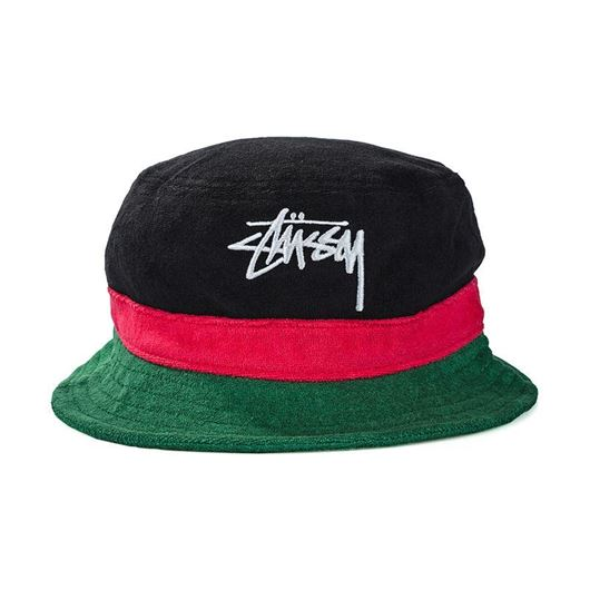 Picture of Stock terry bucket hat Green