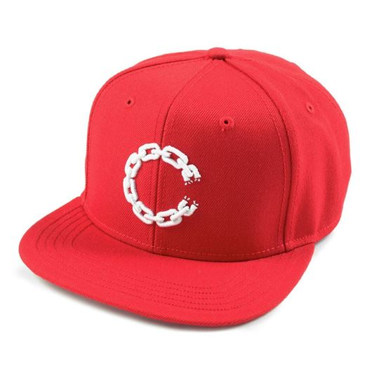 Picture of Chain C Snapback True Red