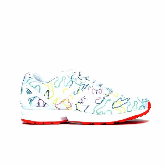 Picture of ZX Flux White/Solar Red