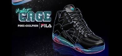Pink Dolphin x FILA Vintage Cage