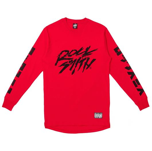 Picture of LOGOVISION L/S TEE Red