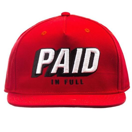 Picture of PAID SNAPBACK Red