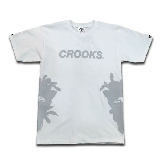 Picture of Crooks Sport Tee White