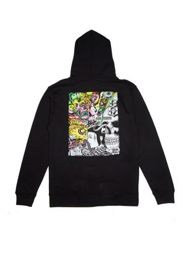 Picture of GATES OF HELL ZIP-UP Black