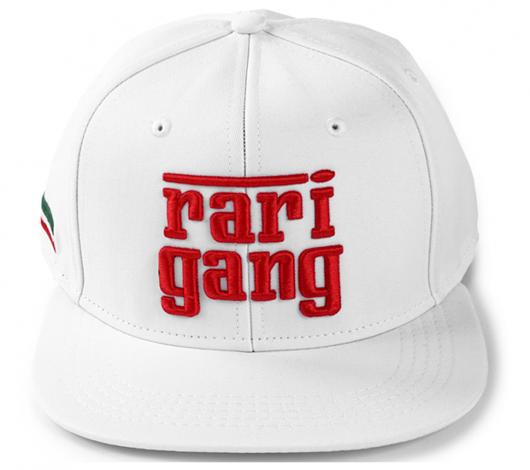 Picture of Rari Gang Snapback White
