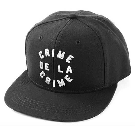 Picture of Crime De La Crime Snapback Black