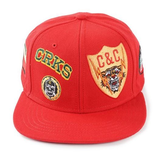 Picture of Badges Snapback True Red