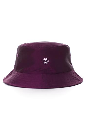 Picture of Iridescent Bucket Hat Purple