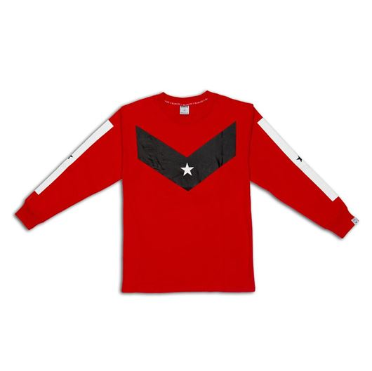 Picture of Victory L/S Tee Red