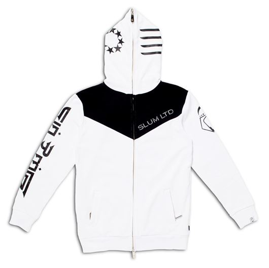 Picture of Warrior Zip Hoody White