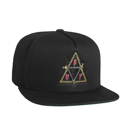 Picture of Swords Triple Triangle Snapback Black