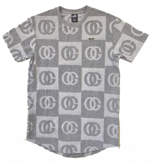 Picture of OG DAMIER TEE Grey Heather