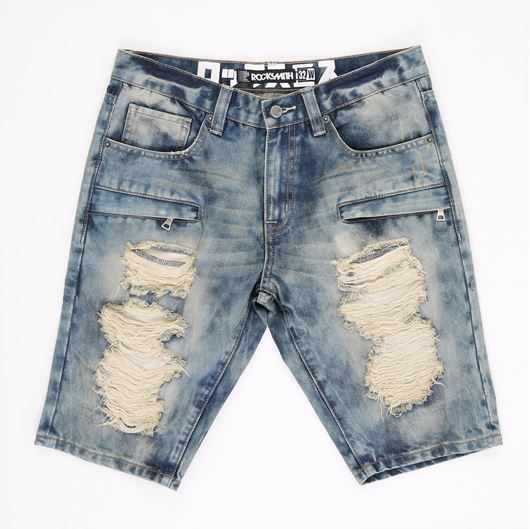 Picture of FULTON DENIM SHORTS Indigo