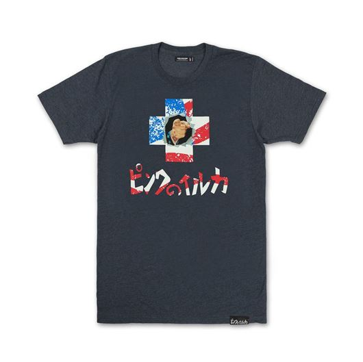 Picture of PROMO INDEPENDENCE TEE Indigo