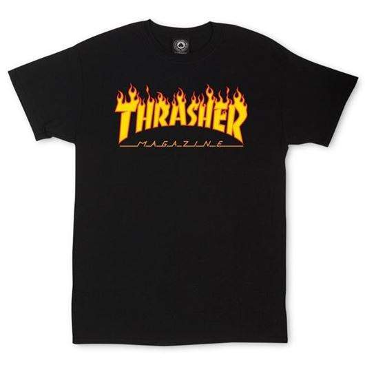 Picture of FLAME Tee Black