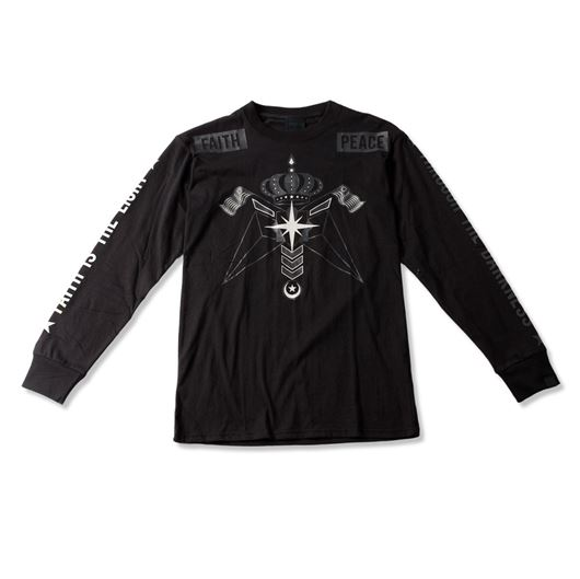 Picture of Through The Darkness QS Tee Black
