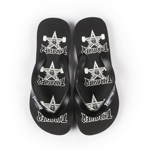 Picture of SKATE GOAT FLIP FLOP Black