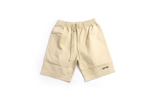 Picture of COTTON TWILL DRAW STRING SHORTS Khaki