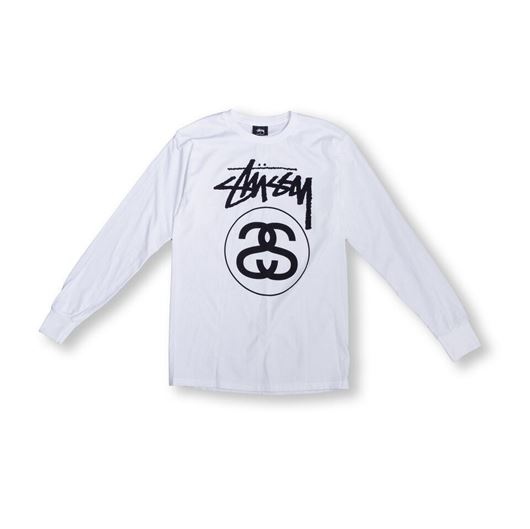 Picture of Stock Link L/S Tee White