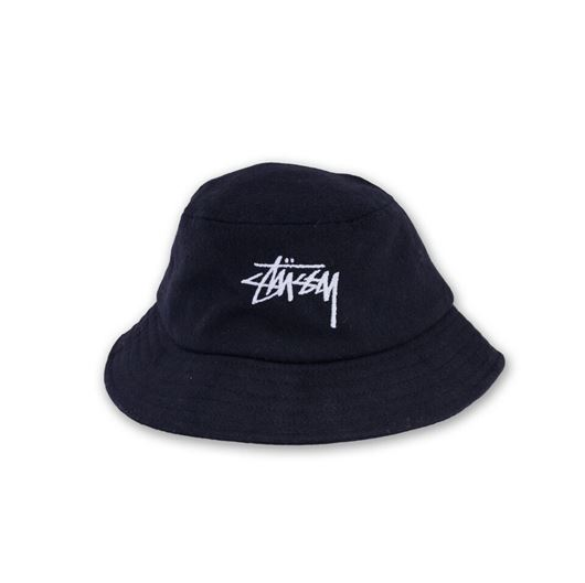 Picture of Stock Wool Bucket Hat Black