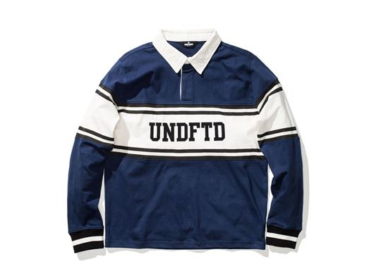 Picture of Undftd Rugby L/S Shirt Navy