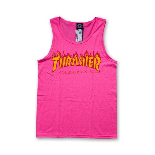 Picture of FLAME TANK TOP Hot Pink