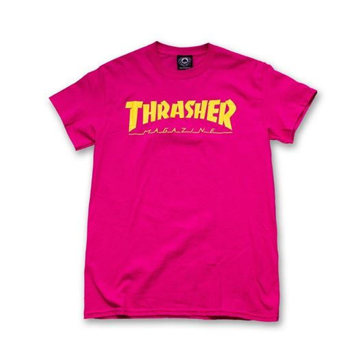 Picture of MAGAZINE LOGO T-SHIRT Pink