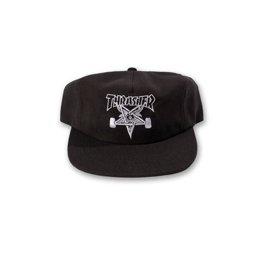 Picture of SKATEGOAT WOOL BLEND SNAPBACK Black