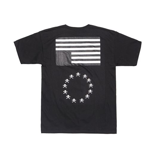 Picture of BLVCK REBELS Tee Black