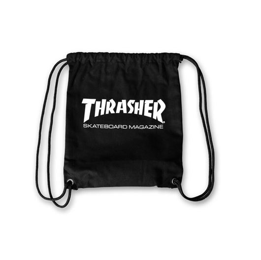 Picture of SKATE MAG DRAW STRING BAG Black
