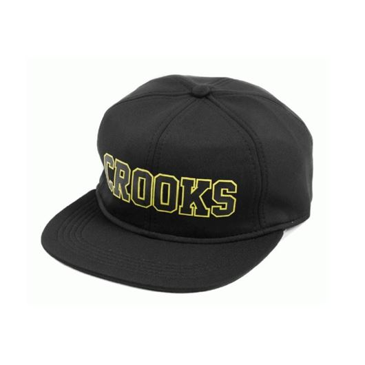 Picture of Crooks Armada Snapback Black