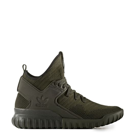 Picture of Tubular X Primeknit  Night Cargo/Black/Night Cargo