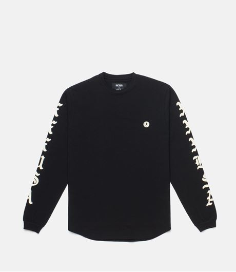 Picture of XXX USA L/S Tee Black