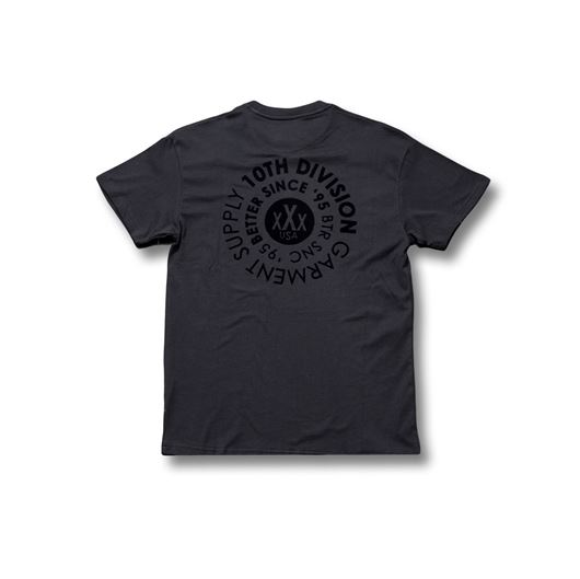 Picture of 360 Flocked Tee Black