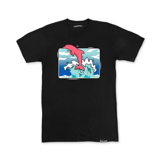 Picture of BOX WAVE TEE Black