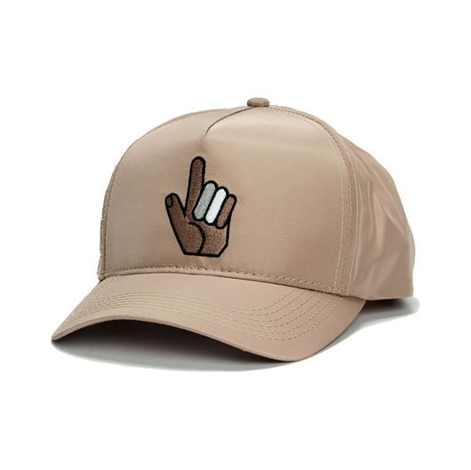Picture of PASTIMES POCKET SNAPBACK Creme