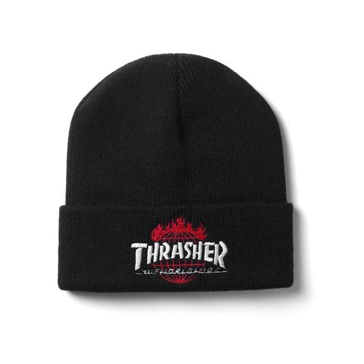 Picture of Thrasher TDS Beanie Black