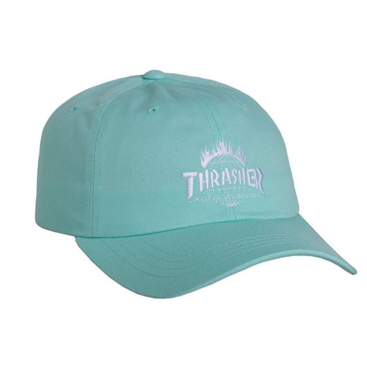 Picture of Thrasher TDS Curve Visor 6 Panel Mint